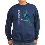 Purple Martin Art Sweatshirt