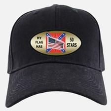 My Flag Has 50 Stars Baseball Hat