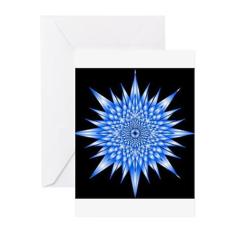 Ice Mandala Greeting Cards (Pk of 10)