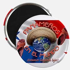 Cute Panama Magnet