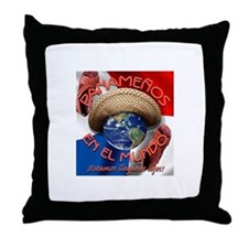 Cute Panama flag Throw Pillow