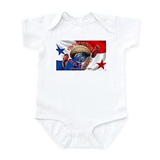 Cute Panama Infant Bodysuit