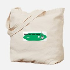 Born to Golf Tote Bag