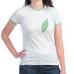 Green Leaf Jr. Ringer T-Shirt