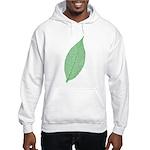 Green Leaf Hooded Sweatshirt