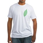 Green Leaf Fitted T-Shirt