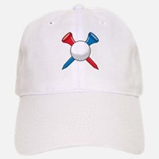 Golf Ball and Tees Baseball Baseball Cap