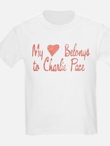 Heart Belongs Charlie Pace T-Shirt