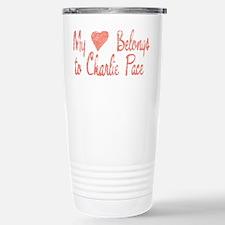 Heart Belongs Charlie Pace Travel Mug