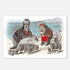The Walrus and the Carpenter Postcards (Package of