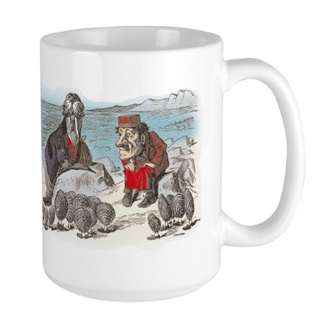The Walrus and the Carpenter Large Mug
