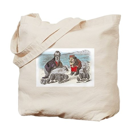 The Walrus and the Carpenter Tote Bag