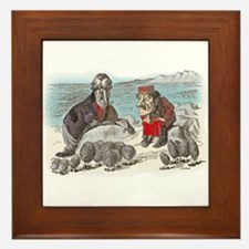 The Walrus and the Carpenter Framed Tile