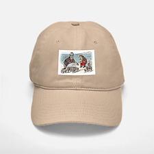 The Walrus and the Carpenter Baseball Baseball Cap
