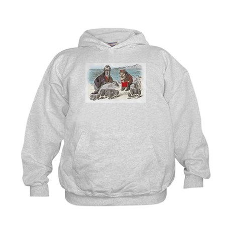 The Walrus and the Carpenter Kids Hoodie
