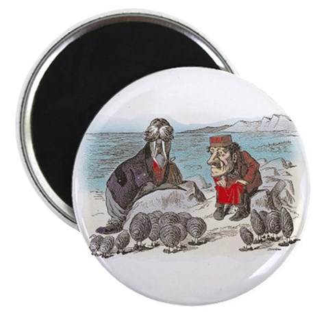 The Walrus and the Carpenter Magnet