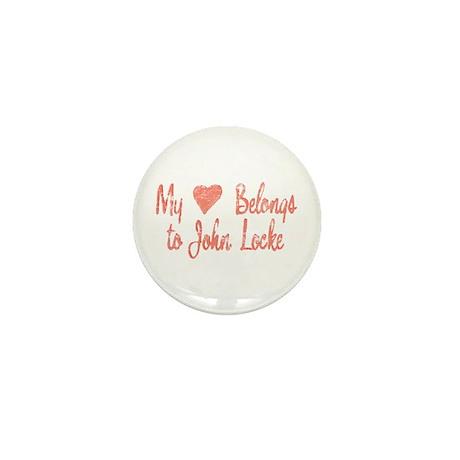 Heart Belongs John Locke Mini Button