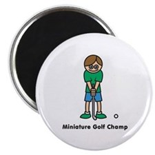Miniature Golf Champ Magnet