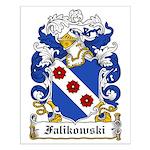 Falikowski Coat of Arms Small Poster