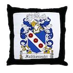 Falikowski Coat of Arms Throw Pillow