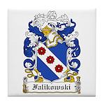Falikowski Coat of Arms Tile Coaster