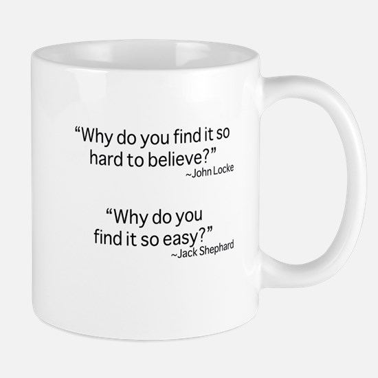 why do you find it? Mugs