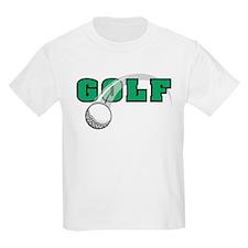 Golf Swoosh Kids T-Shirt