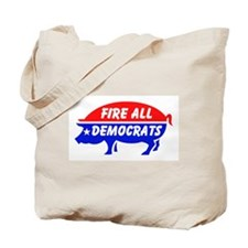 KICK THEM ALL OUT Tote Bag