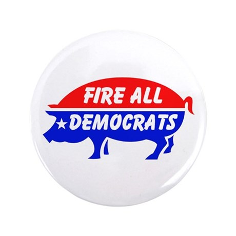 """KICK THEM ALL OUT 3.5"""" Button (100 pack)"""