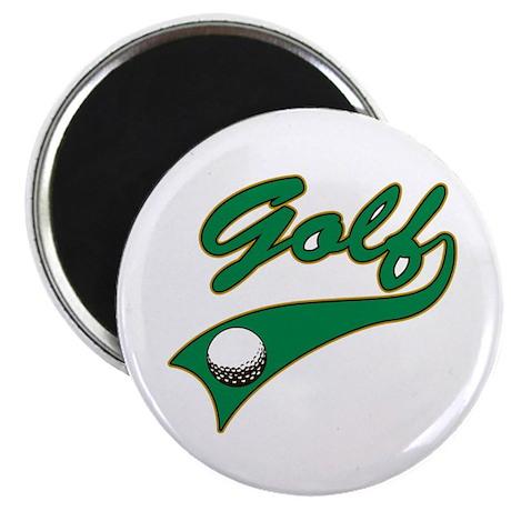 Vintage Golf Magnet