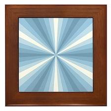 Winter Illusion Framed Tile