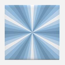 Winter Illusion Tile Coaster