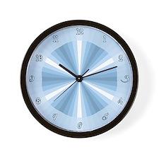 Winter Illusion Wall Clock