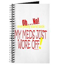 MY MEDS WORE OFF Journal
