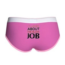 Here About The Blow Job Women's Boy Brief