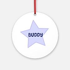 Buddy Ornament (Round)