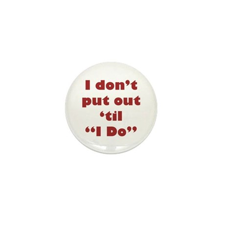 """'til """"I Do"""" Mini Button (10 pack)"""