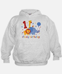 Safari 1st Birthday Hoody