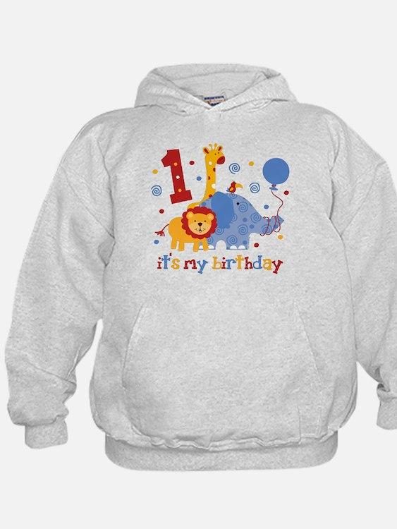 Safari 1st Birthday Hoody