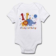Safari 1st Birthday Infant Bodysuit