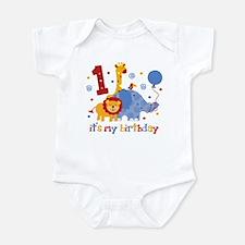 Safari 1st Birthday Infant Bodysuit