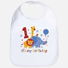 Safari 1st Birthday Bib