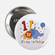 "Safari 1st Birthday 2.25"" Button"