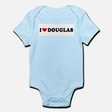 I LOVE DOUGLAS ~  Infant Creeper