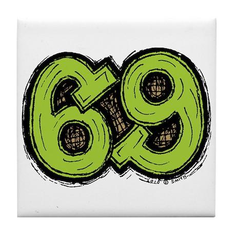69 Tile Coaster