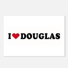 I LOVE DOUGLAS ~  Postcards (Package of 8)