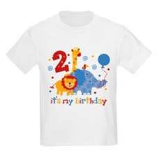 Safari 2nd Birthday T-Shirt