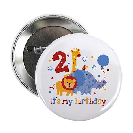 "Safari 2nd Birthday 2.25"" Button"