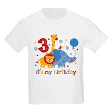 Safari 3rd Birthday T-Shirt