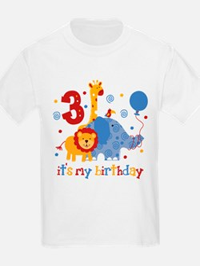 Safari 3rd Birthday T-Shirt